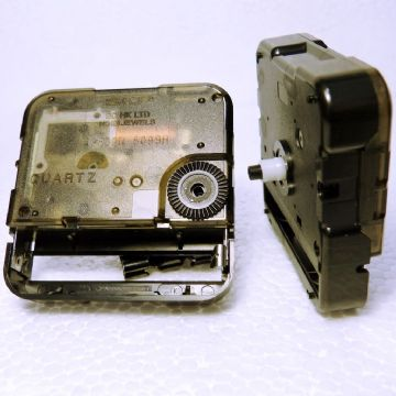 Seiko Snap-in clock movement, 8mm shaft